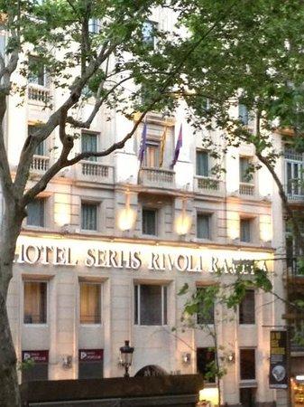 SERHS Rivoli Rambla Hotel: lovely times