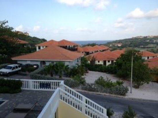 Blue Bay Curacao Golf & Beach Resort: uitzich vanaf het balkon