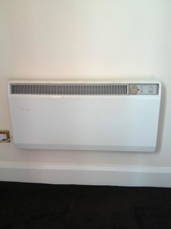 Kenmare Bay Hotel & Resort : Non-working wall heater