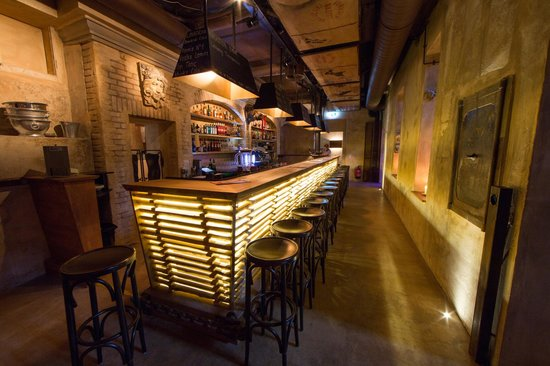 Restaurant Wetterhorn: Die Wetterhorn-Bar im Untergeschoss