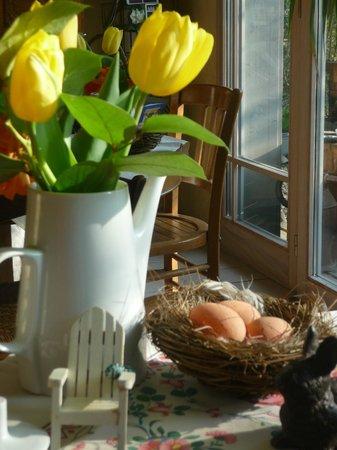 Ambiance-Jardin: breakfast