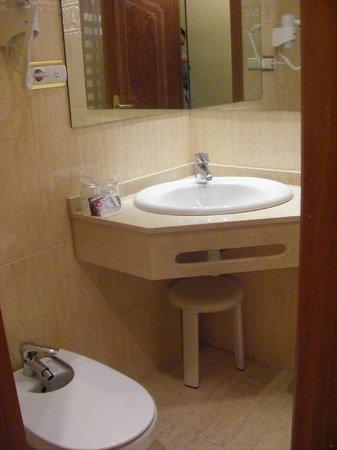 Hotel Alkazar : cuarto de baño