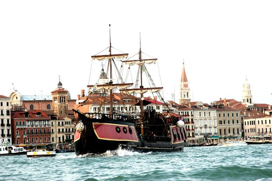 Venetian Galleon