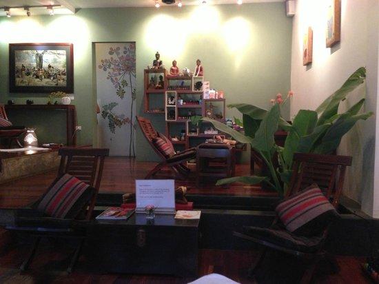 Frangipani Spa: Lobby