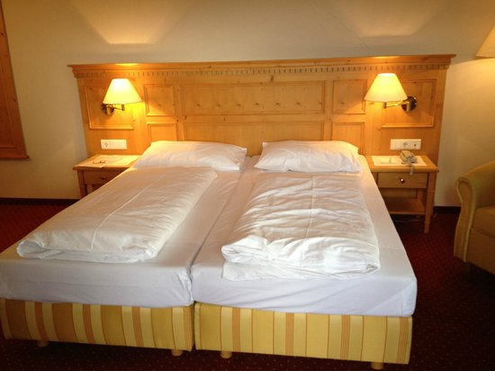 Hotel Regina: Zimmer