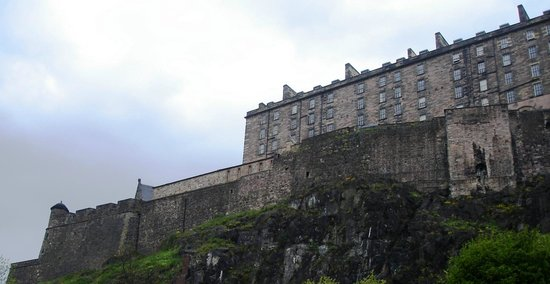 Edinburgh Marriott Hotel: Edinburgh Castle