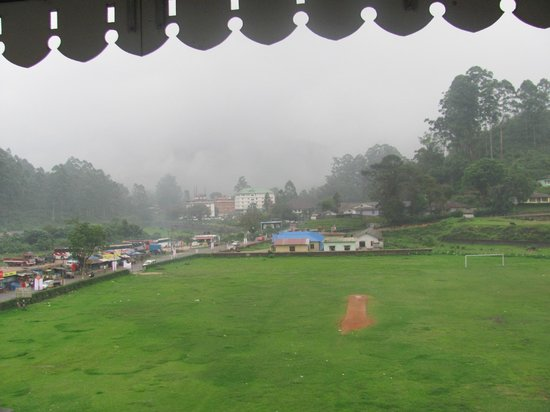 The Silver Tips: View from the Room of the Play ground