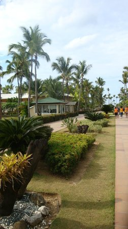 Sirenis Punta Cana Resort Casino & Aquagames: Hotelgelände