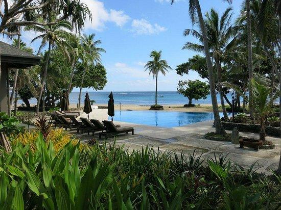 Yasawa Island Resort and Spa: The view at breakfast!