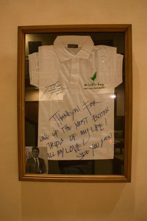 Zac Efron's autograph