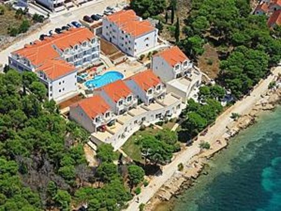 Illyrian Resort : View from airplane