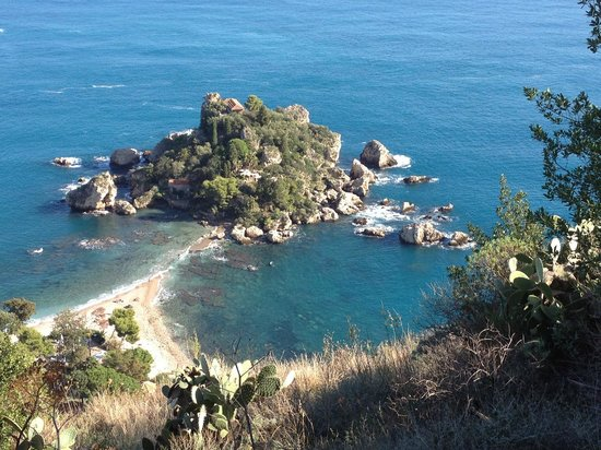 Hostel Taormina : The view near to the hostel