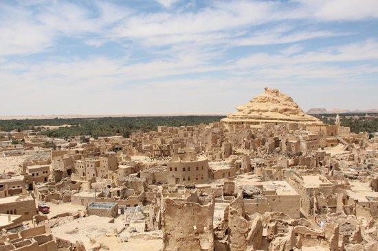 Adrere Amellal: Desert Ecolodge: Shali city ruins - Siwa