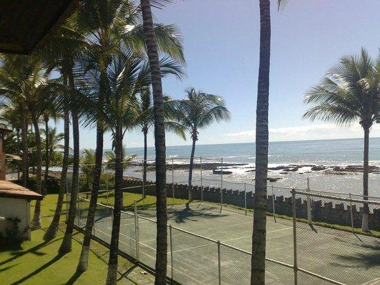 Hotel Baia Cabralia: Vista do mar, a partir do quarto.