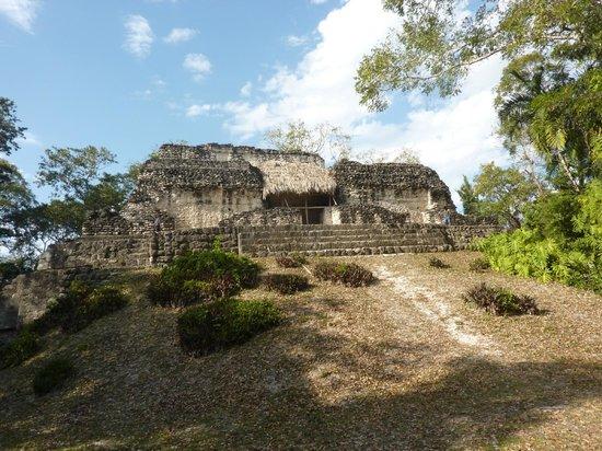 Ruinas de Uaxactún: Temple A 18 at Group A