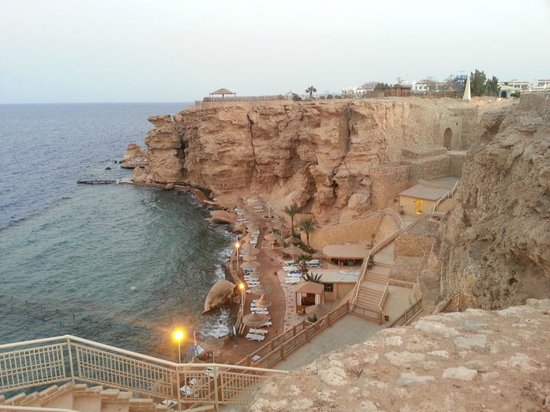 Dreams Beach Resort: private beach