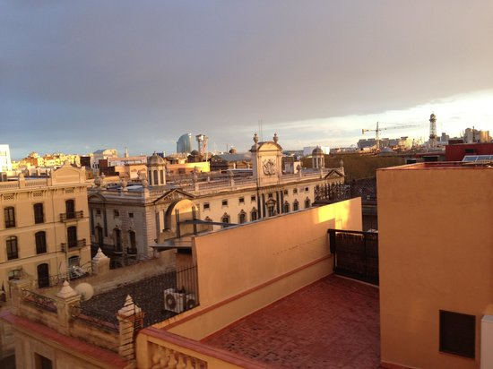 Park Hotel Barcelona: A room with a nice view