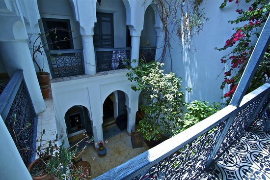 Dar Touyir : Il patio centrale
