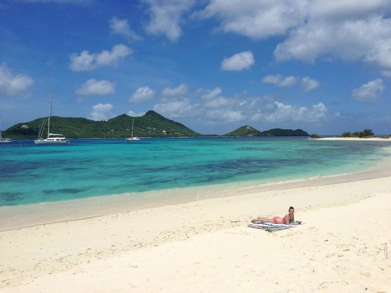 Sandy Island: Liz on Sandy