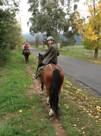 Bogong Horseback Adventures: Warning: tight black skinny jeans are not recommended!