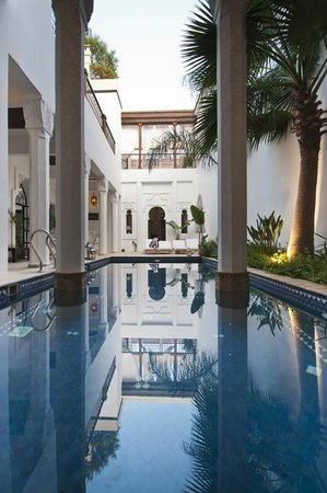 Bellamane, Ryad & Spa: piscine 3,5x9