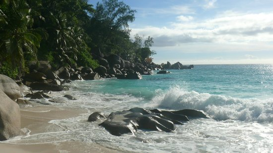 Constance Lemuria: Anse Georgette, one beach of the Hotel