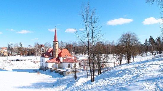 Gatchina, Russia: Приоратский дворец. Архитектор: Львов