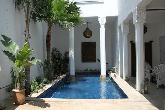 Bellamane, Ryad & Spa: le patio piscine