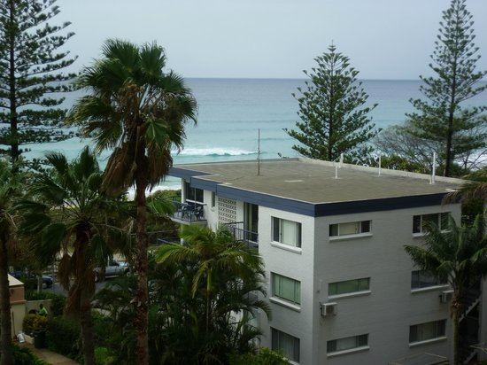 Oceana on Broadbeach: view from our balcony off the lounge area