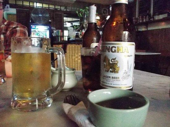 Chai Karr : Singa Beer