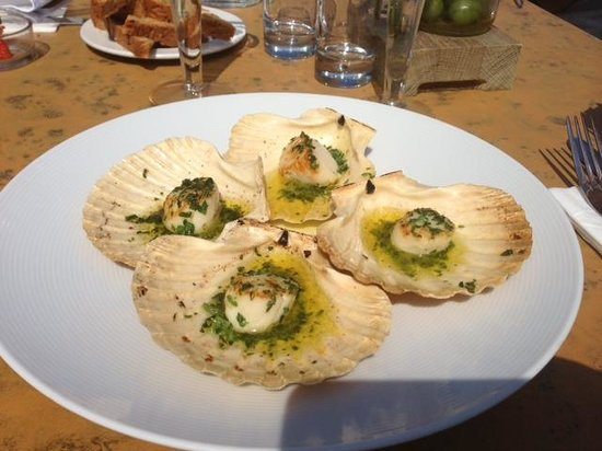 Harbour Fish and Grill: Cornish Scallops