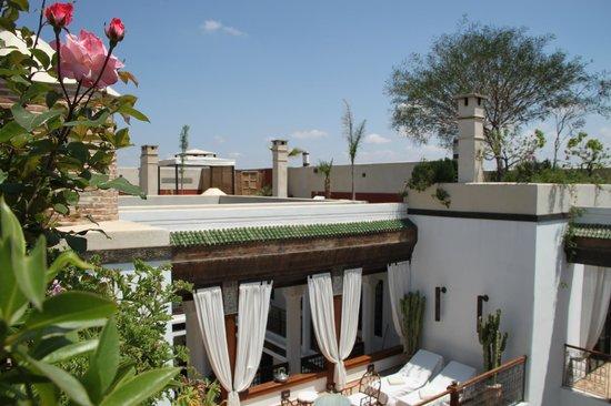Bellamane, Ryad & Spa: terrasse du 1er étage