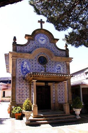 Castelo de Santa Catarina: Chapel in the upper garden