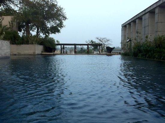 Pool View Picture Of Hyatt Amritsar Amritsar Tripadvisor