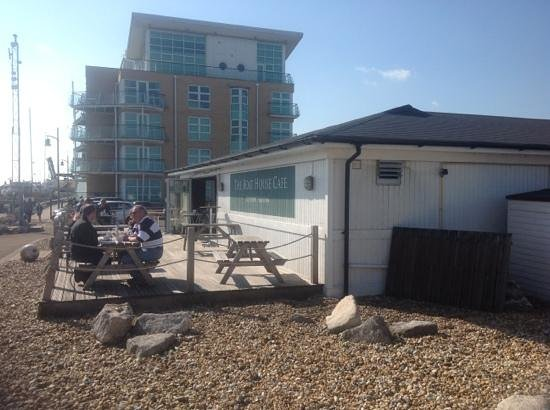 The Boat House Cafe Gosport Marina Image