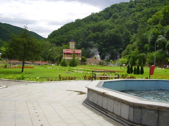 Vranjska Banja, Serbia: Park