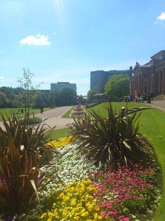 Weston Park: view of park