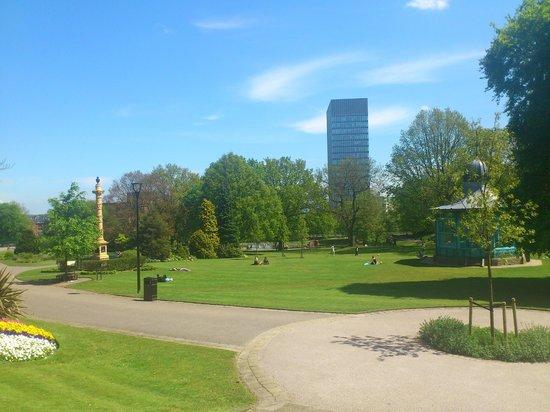 Weston Park: nice view