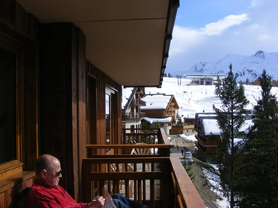 Hotel-Residence Le Merilys: Apartment terasse