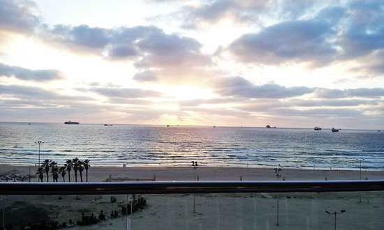 West Boutique Hotel Ashdod: The view from our room