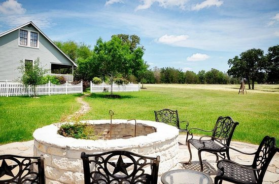 Bootstrap at Round Top: firepit
