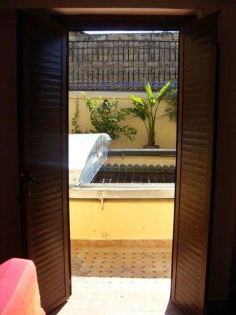 Riyad Al Atik : Room at terrace