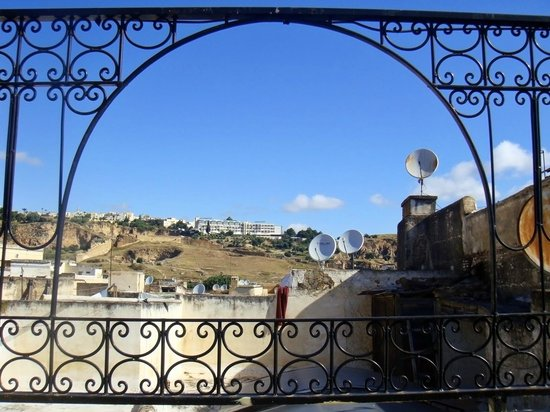 Riyad Al Atik: View from terrace