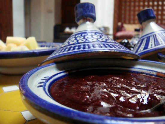 Riyad Al Atik : Breakfast: strawberry jam