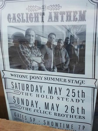 The Stone Pony: TGA and THS at TSP