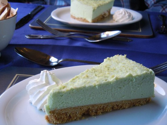 Wessex Belle: Key lime cheesecake