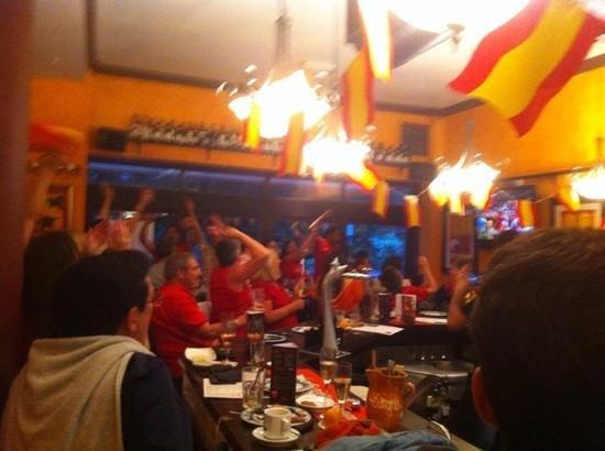 La Tasca - Bournemouth: Final of Euro 2012 in La Tasca Bournemouth