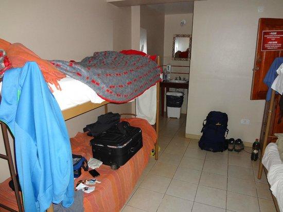 Hostel Inn Iguazu: Habitacion o dormi para cuatro personas