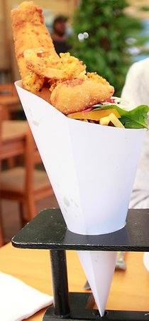 The Rockpool Cafe: Must Try~!! Seafood Cone~!