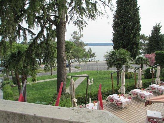 Hotel Marko: View from balcony.